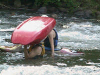 Brandon is a boat-head - Lower Nolichucky, TN