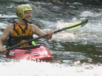 Brandon, happy to be on the river - Lower Nolichucky, TN