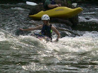 Surfing some more - Jess - Lower Nolichucky, TN