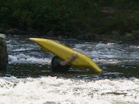 Now Matt's a boat-head! - Lower Nolichucky, TN